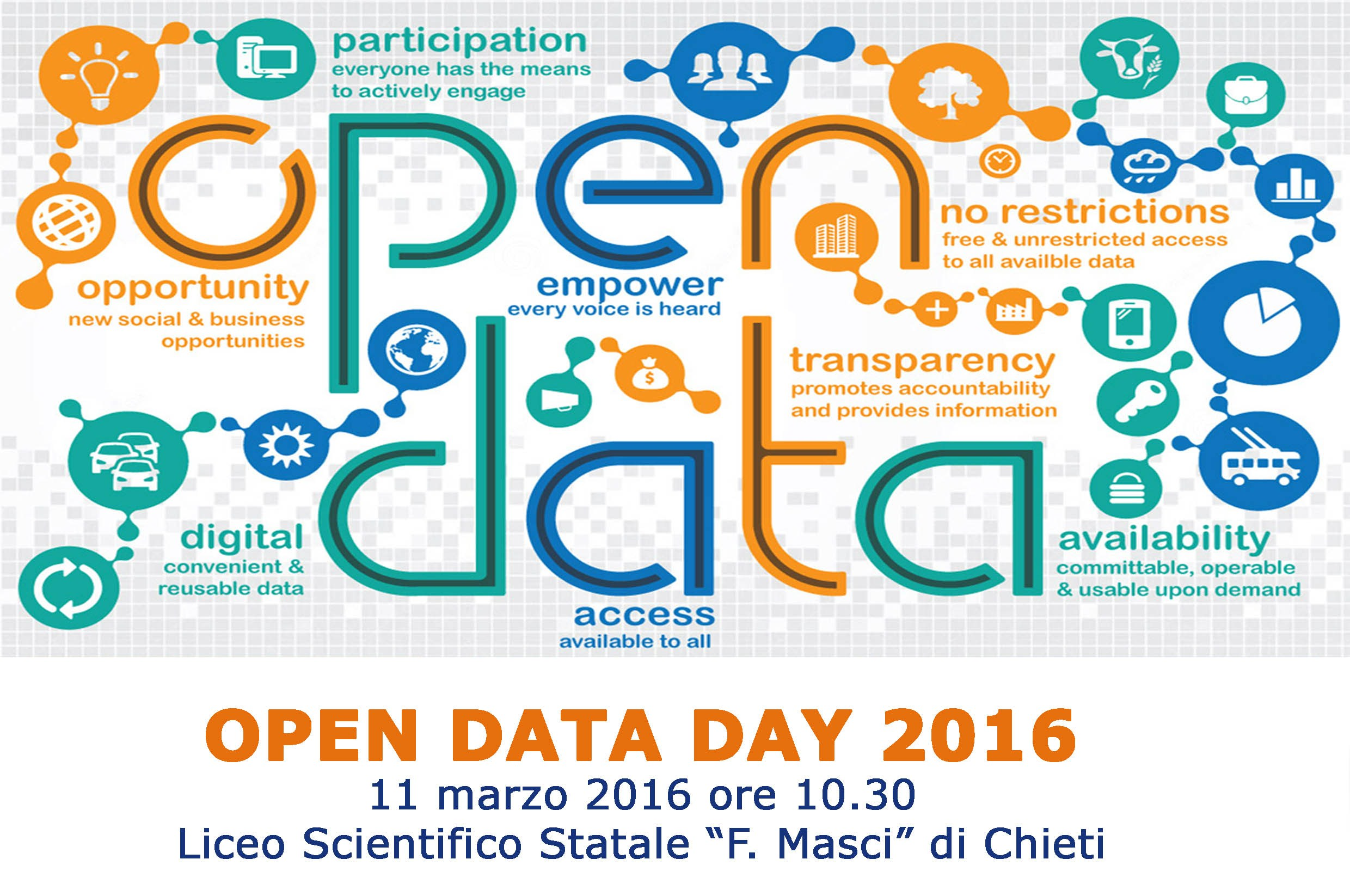banner open data day Chieti